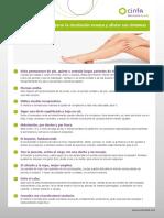 Ficha Consejos Cinfa Piernas