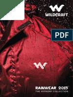 wildcraft Rainwear 2015