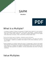 SAPM Valuation
