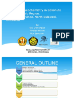 Geothermal Geochemistry in Boliohuto Area, Gorontalo Region