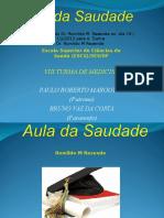 Aula Saudade Turma VIII ESCS 2013