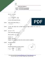 11 Physics Gravition Test 02 Answer l7vs