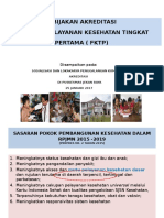 Kebijakan Akreditasi Puskesmas 2017