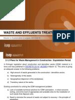 Waste ManagementPlans