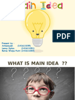 Main Idea (1)