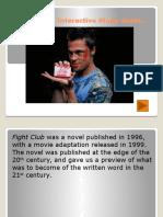 Fight Club PP presentation