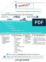 Airline Study Briefing Notes