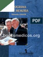Programa de Memoria Metodo UMAM.org