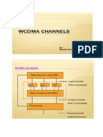 WCDMA Channels