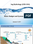 2. Water Budget System