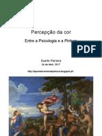 Percepção da Cor - Entre a Psicologia e a Pintura