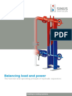 Balancing Load and Power (the Function and Operating Principle of Hydraulic Separators) En