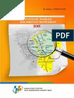 Statistik Daerah Kecamatan Matraman 2015