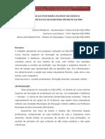 A ESCOLHA DA PROFISSÃO DOCENTE NA ESCRITA AUTOBIOGRÁFICA DE EDUCADORAS INFANTIS DA PBH