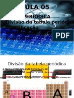 Aula 05 - Tabela Periódica