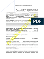 Contrato de Prestación de Servicios Profesionales Marvilla Juridico