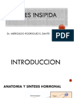 Medicina III - Diabetes Insípida