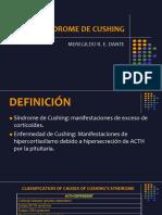 Medicina III - Síndrome de Cushing