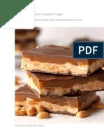 Barras de Chocolate Caramelo Nougat