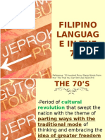 Lingg 1- 70s Language