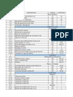 Costos y Presupuestos Actividad 3