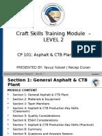 KMP Craft Skills Training Asphalt and CTB