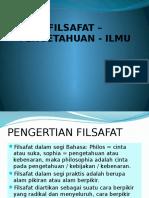 Fp-filsafat - (1) Pengantar