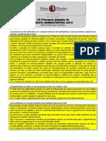 Principais Julgados de Direito Administrativo 2015