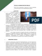 Órganos de La Administración Pública Ilustrada