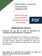 Legislación Del Manejo y Control de Medicamentos INVIMA