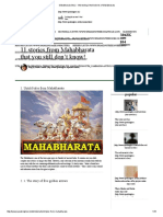 Mahabharata Story - Interesting Untold Stories of Mahabharata