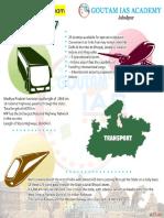 MP Transport Infographics