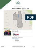 Persimmon Hill Neighborhood Real Estate Report