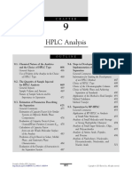 Chapter 9 HPLC Analysis 2013 Essentials in Modern HPLC Separations