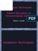 Inhalation Devices