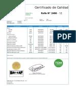 Certificado de Calidad fact. 0001-000184 Liso LLPE  Serie 2486-12 1.00mm (01 rollos) (1).pdf
