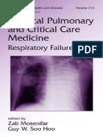 Zab Mohsenifar, Guy W. Soo Hoo Lung Biology in Health & Disease Volume 213 Practical Pulmonary and Critical Care Medicine Respiratory Failure.pdf