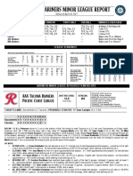 04.29.17 Mariners Minor League Report