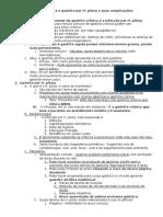Resumo - Gastrite Crônica e Gastrite Por Infecção de H. Pilory e Suas Complicações