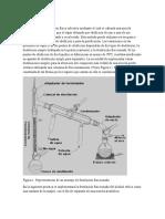 Destilacción fraccionada