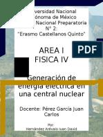 Generación de Energía Eléctrica en Una Central Nuclear