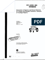 Generation of Spectra & Stress Histories for F&DT Analysis of Fuselage Repairs-Broek