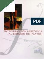 Eggers Lan Conrado - Introduccion Historica Al Estudio De Platon.pdf