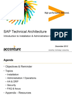 SAP TechArch - Introduction To SAP HANA 1 0 - Dec 2013 v2.pptx