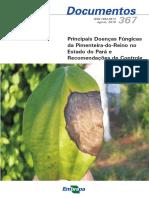 Tremacoldi (2010) - Principais Doenças Fúngicas Da Pimenteira-do-Reino No Estado Do Pará