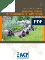 Agricultural Programmes ACF FR
