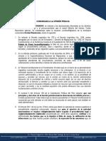 Sobre la situación migratoria de Korina Rivadeneira