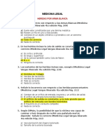 Cuestionario Med Legal 2 Parcial