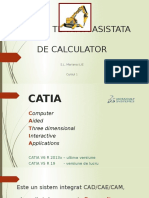 INTRODUCERE in catia v5