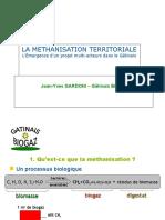 Méthanisation Territoriale Présentation Beauce Loire10!05!2011